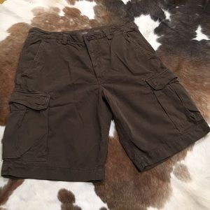Banana Republic Brown Cargo Shorts.